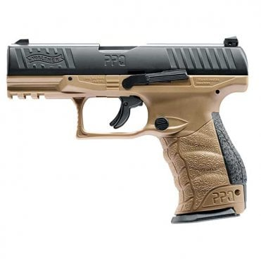 Umarex T4E PPQ M2 Paintball Pistol Marker .43Cal - Black/Tan