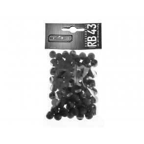 Umarex T4E RB43 .43 Cal Rubber Ball Ammunition 100pce