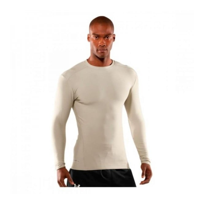 Under Armour Compression Long Sleeve - Sand