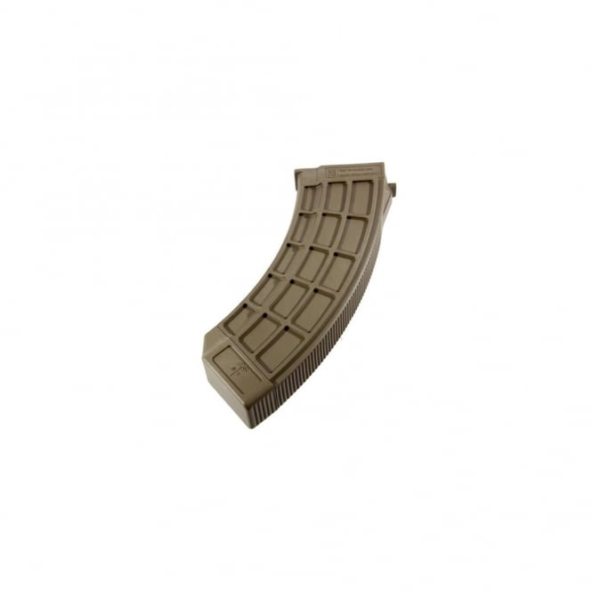PTS Syndicate Airsoft US Palm AK30 Magazine - Dark Earth