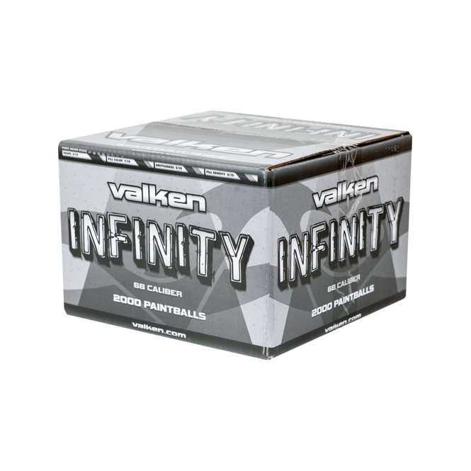 Valken Infinity Paintballs Orange Shell/Orange Fill 2000 rounds