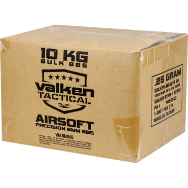 Valken V-Tactical Bulk BB's Box 0.20g White 10KG