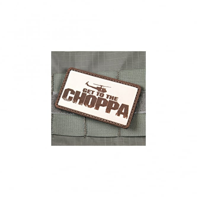 Violent Little Machine Shop 'GET TO THE CHOPPER' Predator morale Patch