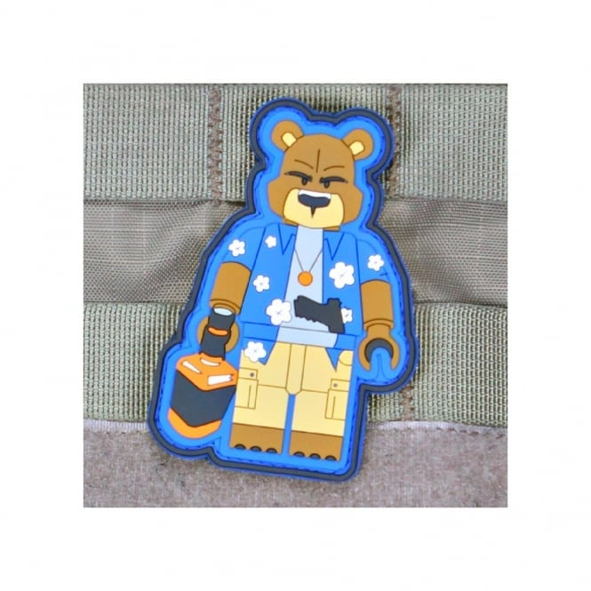 Violent Little Machine Shop Violenty Little Machione Shop Creasy Bear Brick Operator Morale Patch