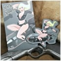 Violent Little Machine Shop VLMS Combat Pinup Girl Patches - Betty Bombs