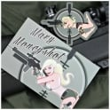 Violent Little Machine Shop VLMS Combat Pinup Girl Patches - Mary Moneyshot