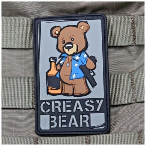 VLMS Creasy Bear Patch Full Colour