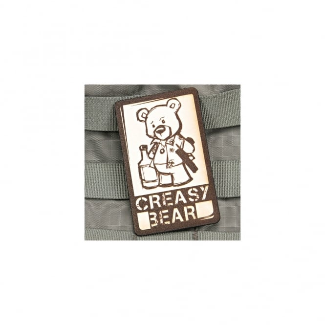 Violent Little Machine Shop VLMS Creasy Bear Patch Leather