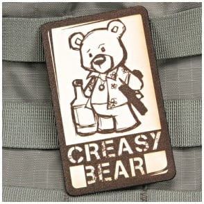 VLMS Creasy Bear Patch Leather