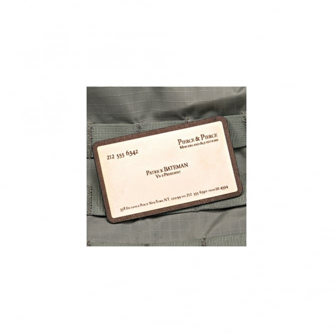 Violent Little Machine Shop VLMS Patrick Bateman Business Card