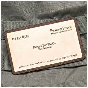 VLMS Patrick Bateman Business Card