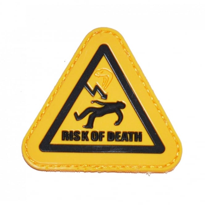 Viper Tactical Viper 'Risk of Death' Patch