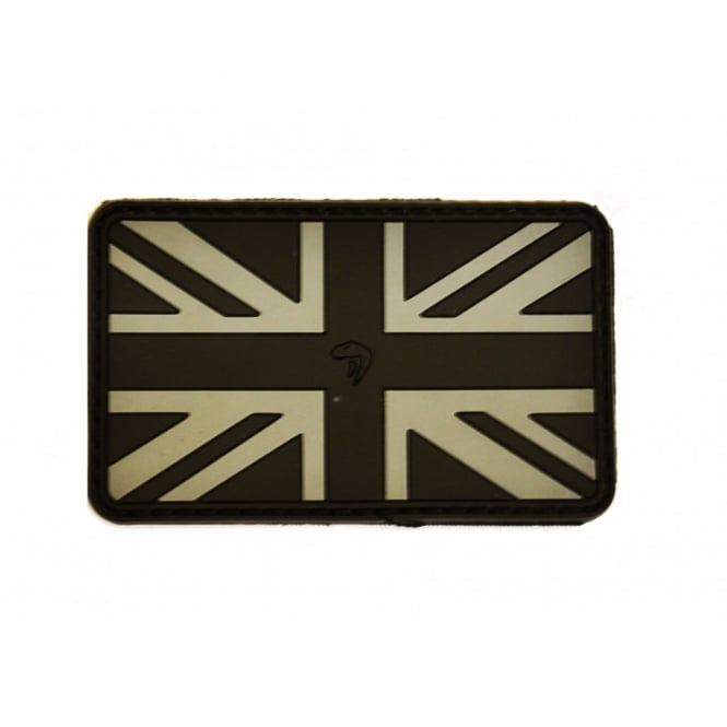 Viper Tactical Viper Subdued Rubber Union Jack Patch - Black
