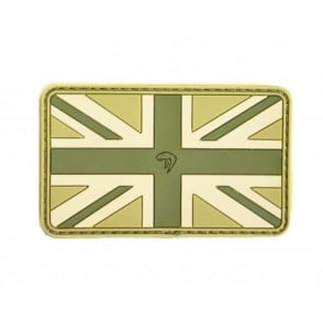 Viper Subdued Rubber Union Jack Patch - VCam
