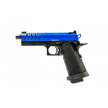 Vorsk Hi-Capa 4.3 Blue/Black Two Tone Gas Blowback Pistol