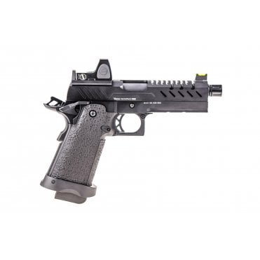 Vorsk HI-CAPA 4.3 GBB Pistol - Black with BDS