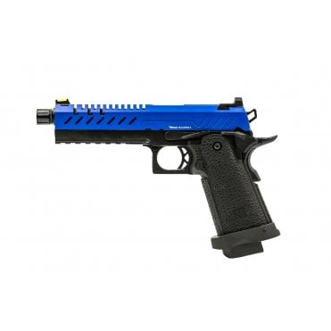Vorsk Hi-Capa 5.1 Blue/Black Two Tone Gas Blowback Pistol