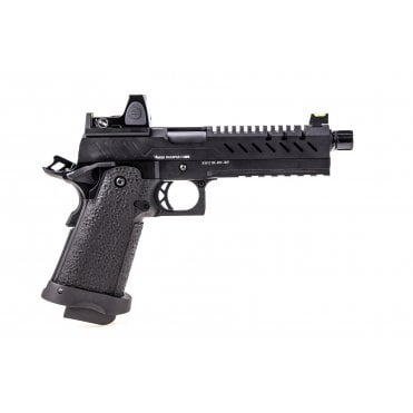 Vorsk HI CAPA 5.1 GBB Pistol - Black with BDS