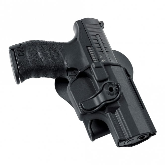 Umarex Walther Belt Paddle Holster for all PPQ M2 Models (Airsoft/T4E/Firearm)