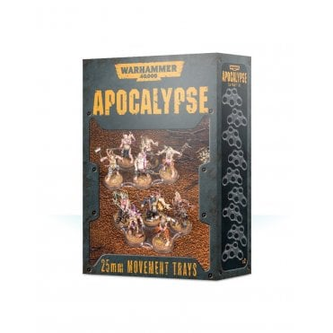 Warhammer 40,000 Apocalypse 25mm Movement trays