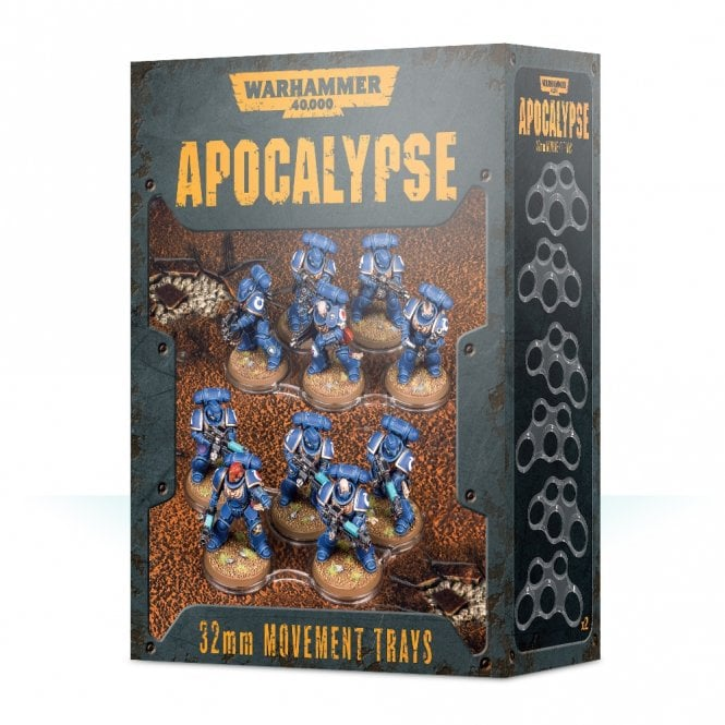 Games Workshop Warhammer 40,000 Apocalypse 32mm Movement trays