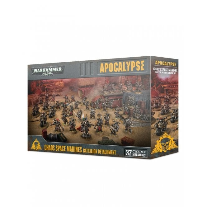 Games Workshop Warhammer 40,000 Apocalypse : Chaos Space Marines Battalion Detachment