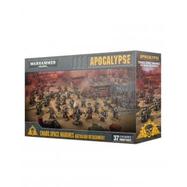Warhammer 40,000 Apocalypse : Chaos Space Marines Battalion Detachment