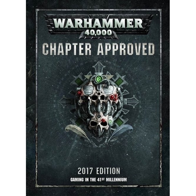 Games Workshop Warhammer 40,000 : Chapter Approved 2017 Edition
