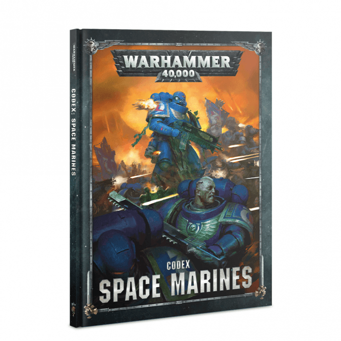 Games Workshop Warhammer 40,000 : Codex Space Marines