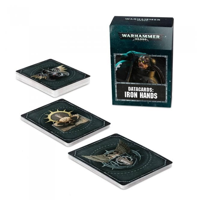Games Workshop Warhammer 40,000 : Datacards : Iron Hands