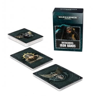 Warhammer 40,000 : Datacards : Iron Hands
