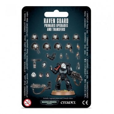 Warhammer 40,000 : Raven Guard Primaris Upgrades & Transfers