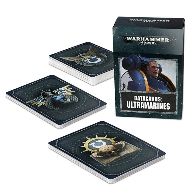 Games Workshop Warhammer 40,000 Space Marines Datacards : Ultramarines