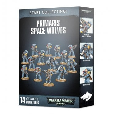 Warhammer 40,000 Start Collecting! Primaris Space Wolves