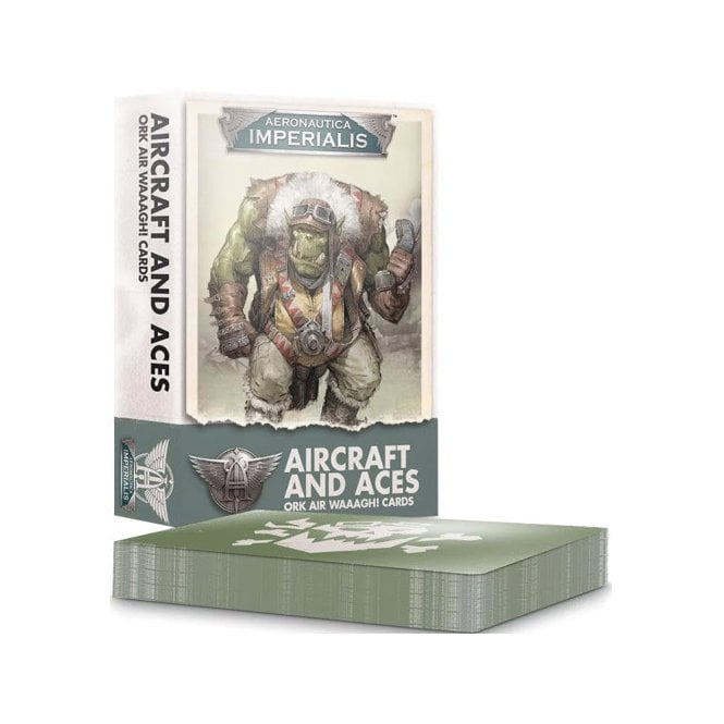 Games Workshop Warhammer 40k : Aeronautica Imperialis Aircraft and Aces Ork Waaagh! Cards