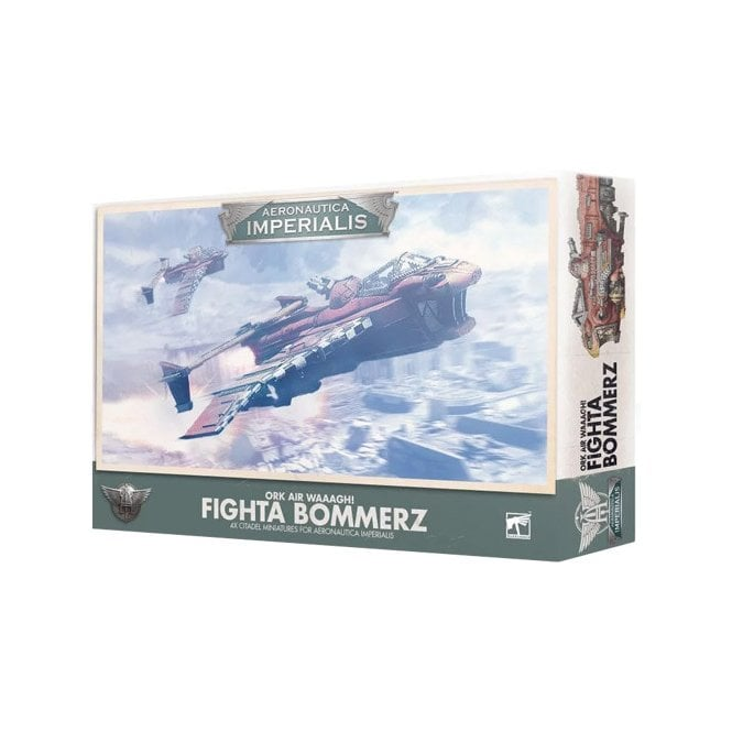 Games Workshop Warhammer 40k : Aeronautica Imperialis Ork Air Waaagh! Fighta Bommerz