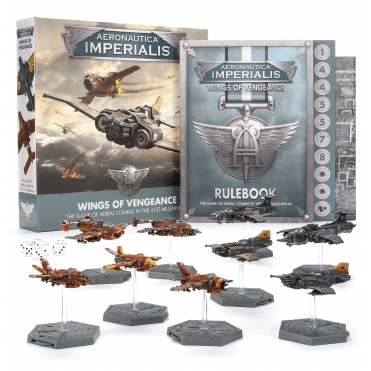Warhammer 40k : Aeronautica Imperialis : Wings of Vengeance Boxed Game Set