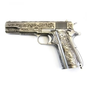 1911 Chrome Etched Special Edition