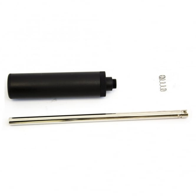 WE Airsoft Europe Pistol Mock Silencer and Barrel Extension