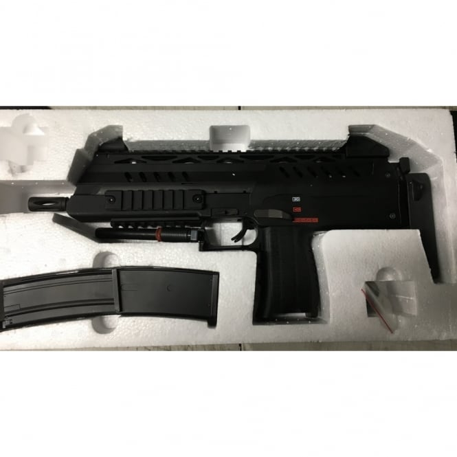 WE Airsoft Europe SMG8 NP7 - Black - SPARES