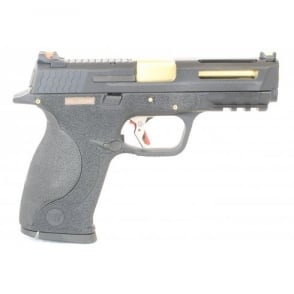WE Airsoft Europe E Force Big Bird Vented - Black and Gold