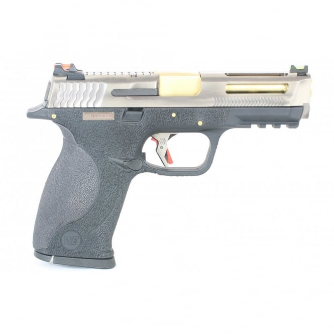 WE Airsoft Europe E Force Big Bird Vented - Silver and Gold