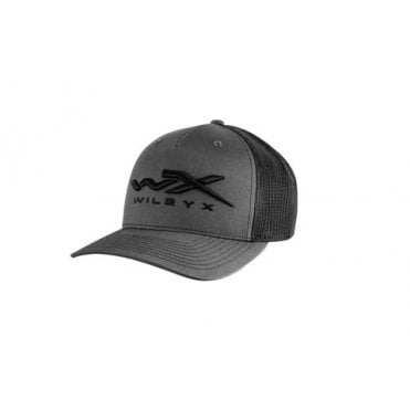 Wiley X Black/Grey Snapback Cap