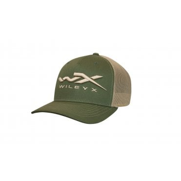 Wiley X Green/Tan Snapback Cap