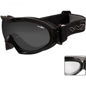 Wiley X NERVE - Smoke Grey + Clear Lens / Matte Black Frame