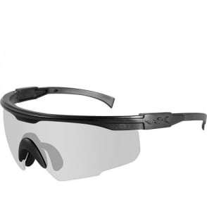 Wiley X PT-1 - Clear Lens / Matte Black Frame w/Micro Fiber Bag