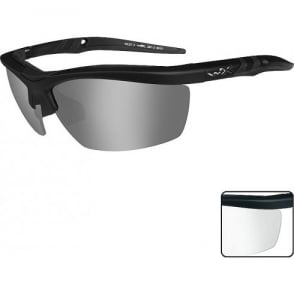 Wiley X GUARD - Smoke Grey + Clear Lenses / Matte Black Frame
