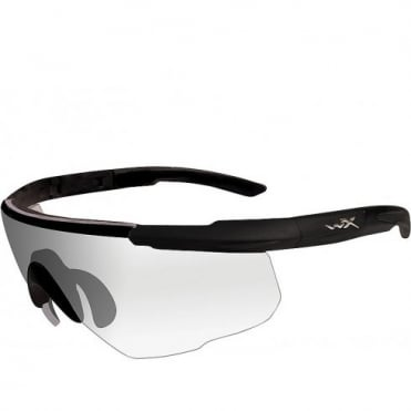 Wiley X SABER ADVANCED - Clear Lens / Matte Black Frame w/Micro Fiber Bag