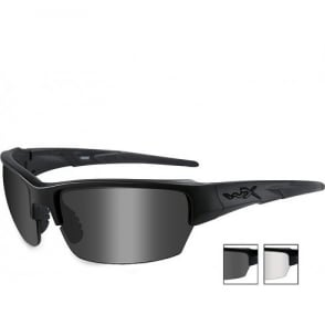 Wiley X WX SAINT - Smoke Grey + Clear + Light Rust Lenses / Matte Black Frame