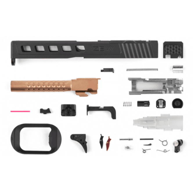 PTS Syndicate Airsoft ZEV G17 Dragonfly Slide Kit for Trijicon RMR